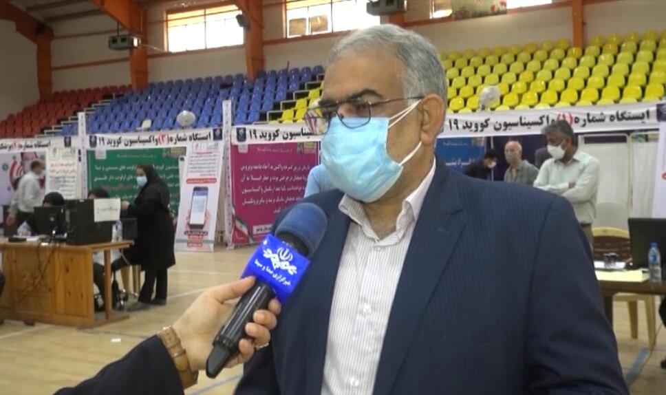گزارش خبرگزاری صداوسیما مرکز بوشهر در خصوص تزریق واکسن ایرانی کوو برکت