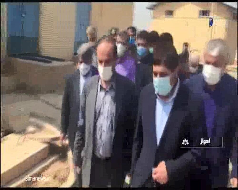 گزارش آمنه ذبیح پور در ۲۰ و ۳۰  از مردانی که در صحنه حل بحران خوزستان در میدان هستند!