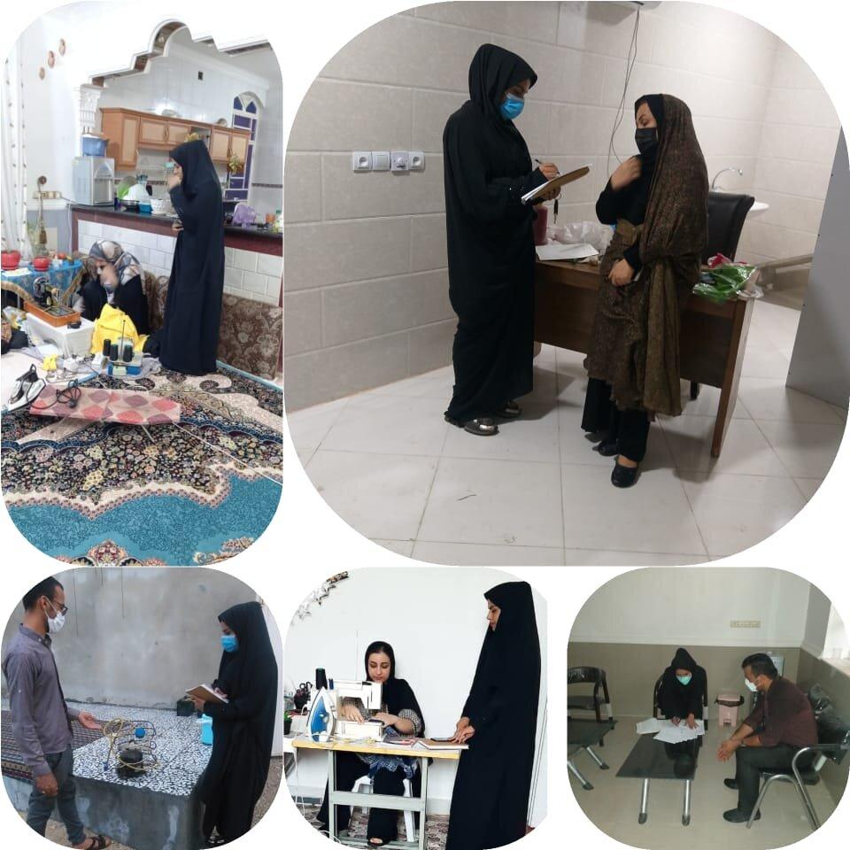 گزارش تسهیلگرانشهرستان دیر از وامهای اشتغالزایی اجتماع محور