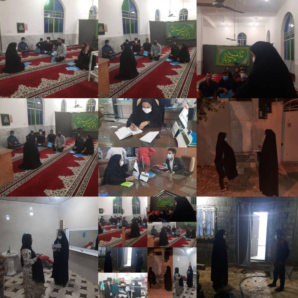 گزارش فعالیت تسهیلگرانشهرستان کنگان بخش مرکزی