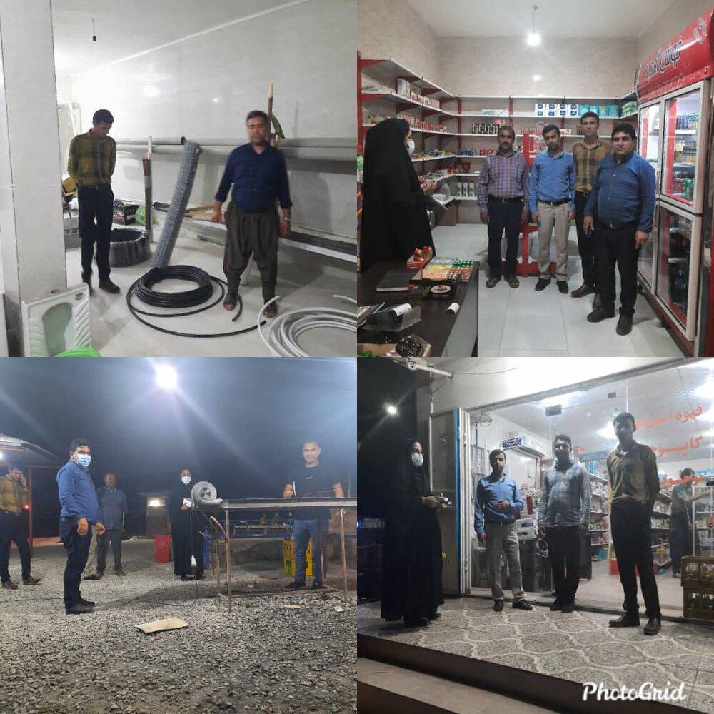 گزارش تسهیلگرانشهرستان کنگان دربخش سیراف