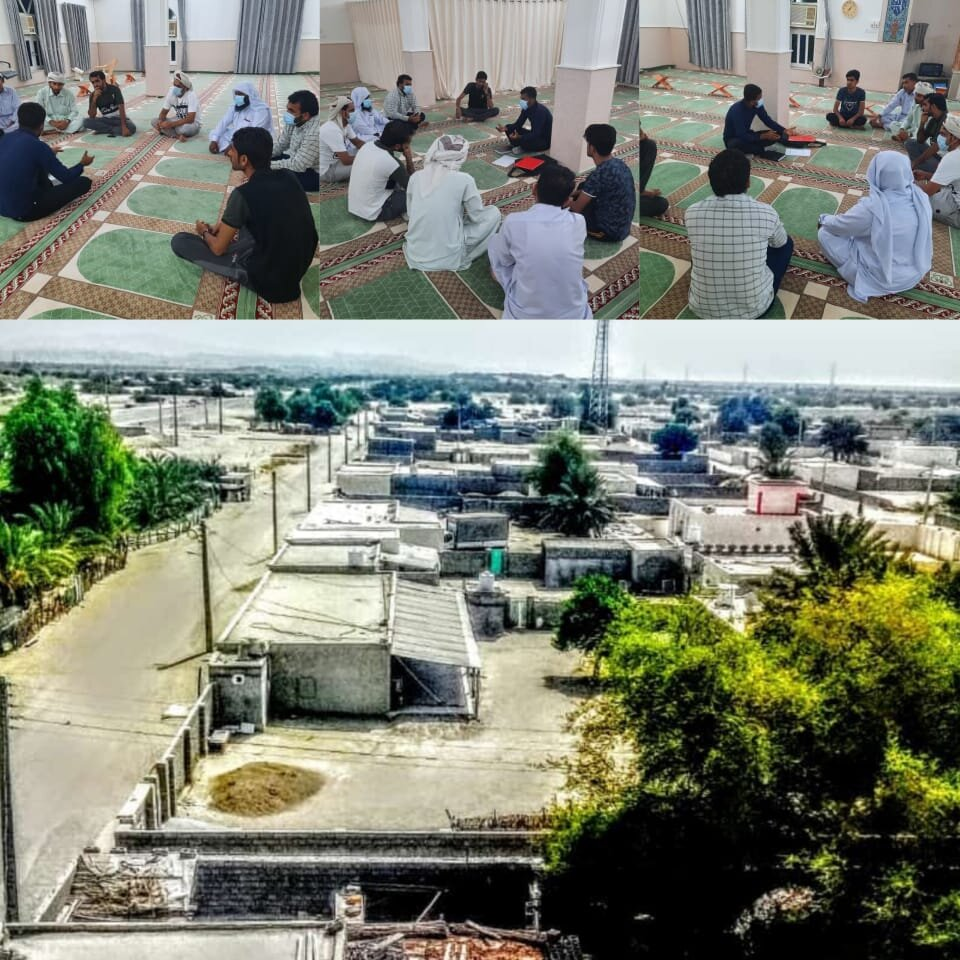 جلسه کارگروه توسعه اشتغال روستای علی آباد یکدار، بخش مرکزی، شهرستان جاسک استان هرمزگان