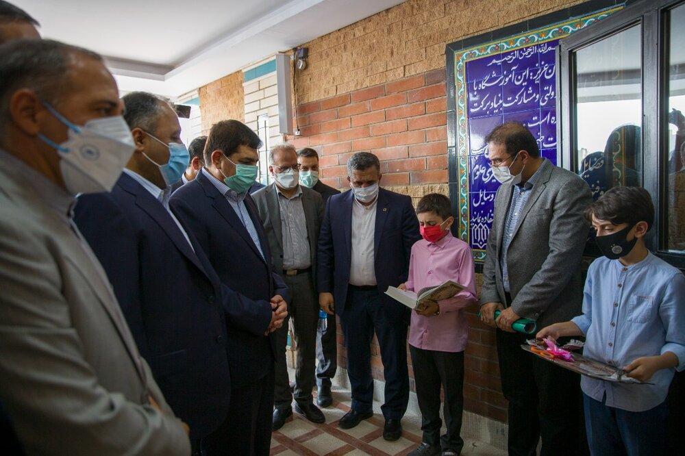 افتتاح ۳۰۰ مدرسه و مرکز فرهنگی در مناطق محروم و روستایی کشور توسط ستاد اجرایی فرمان امام