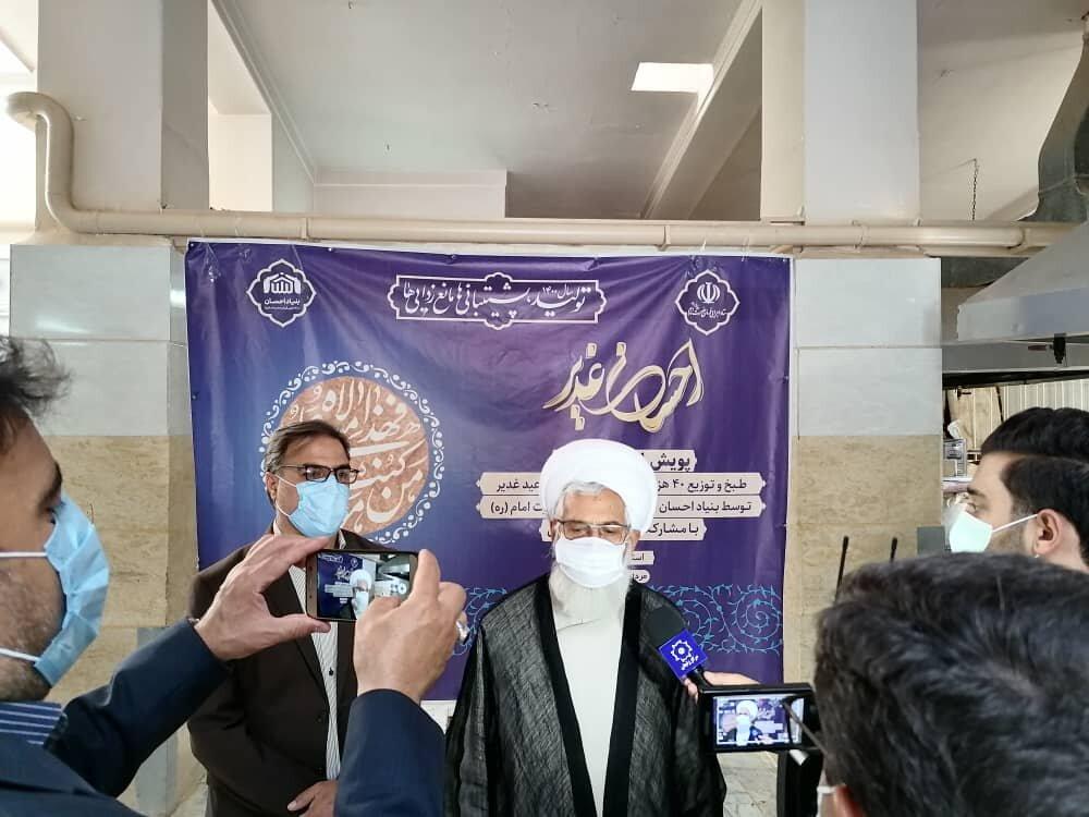 پخت و توزیع 40 هزار پرس غذایی گرم در استان زنجان