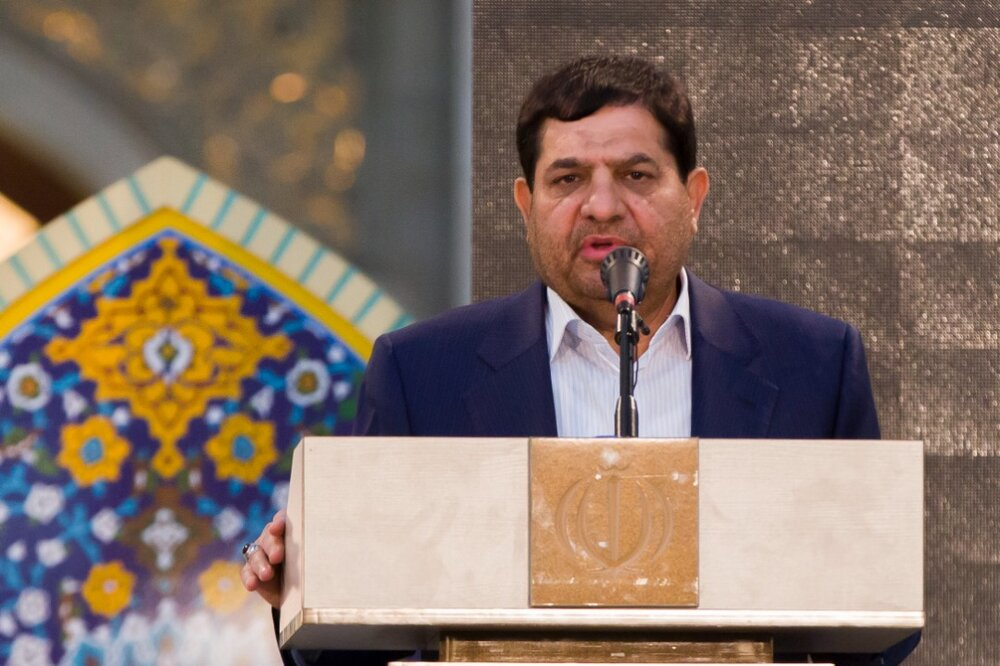 محمد مخبر معاون اول رئیسجمهور شد