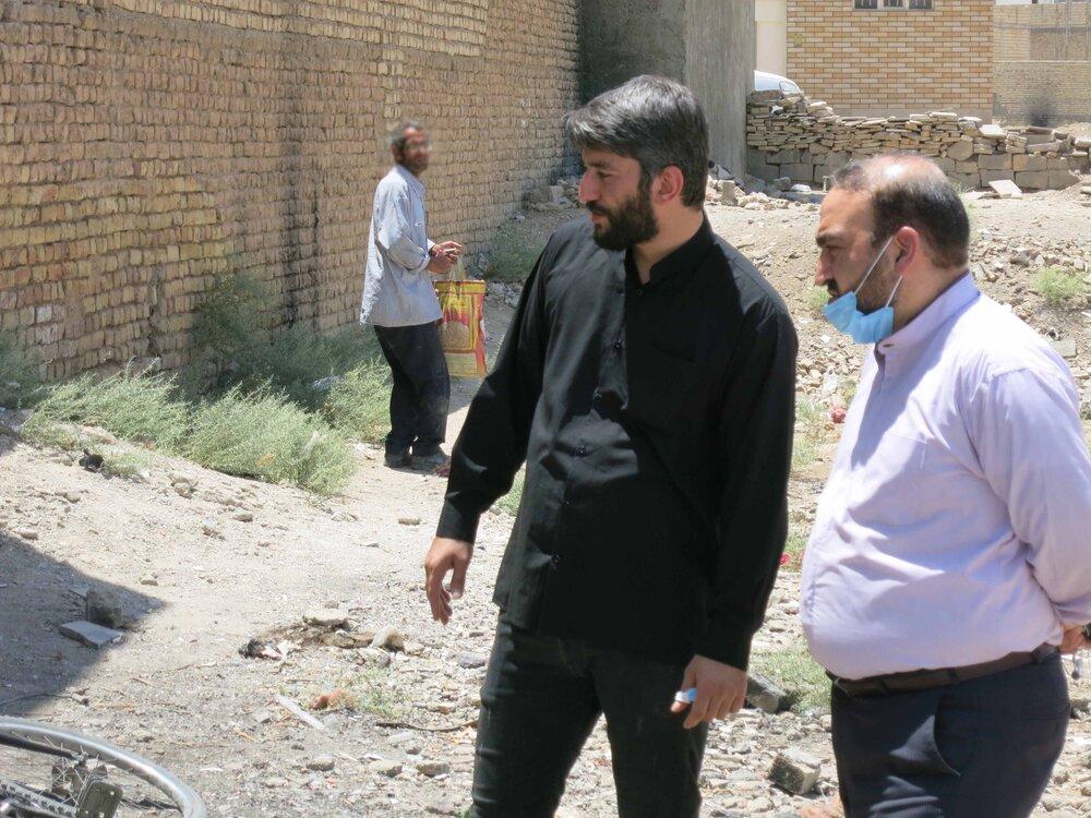 بازدید مدیر کل ستاد اجرایی فرمان امام (ره) از نقاط حاشیه ای و محروم اصفهان