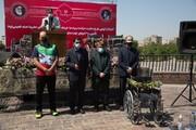 گزارش خبر ۱۳ از آغاز توزیع  ۲۷۰۰۰ ویلچر اهدایی ستاد اجرایی فرمان امام توسط بنیاد ۱۵خرداد بین معلولان مناطق محروم