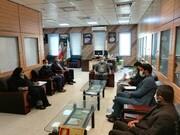 برگزاری جلسه با معاون آموزشی اداره کل آموزش و پرورش استان هرمزگان