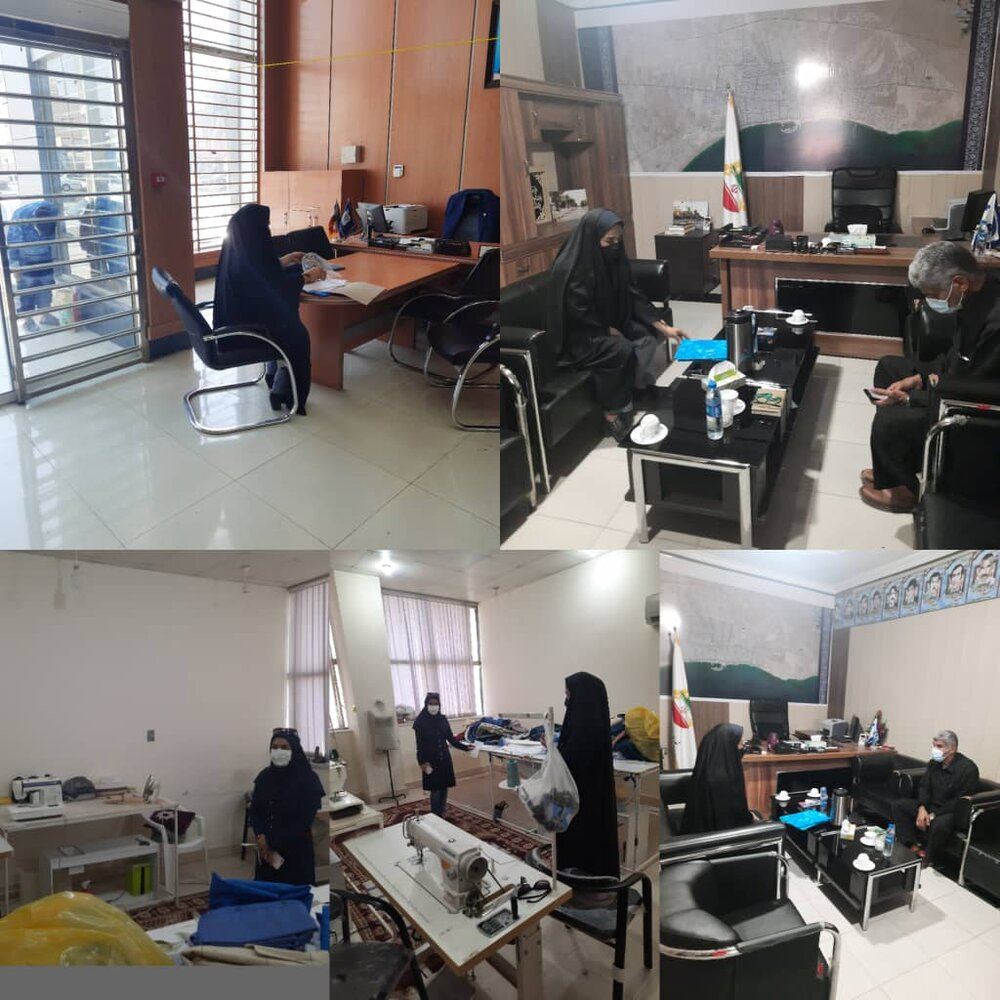 گزارش فعالیت تسهیلگران شهرستان کنگان