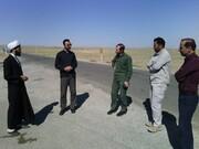 بازدید مدیر کل ستاد اجرایی فرمان امام(ره) استان سمنان از مناطق محروم