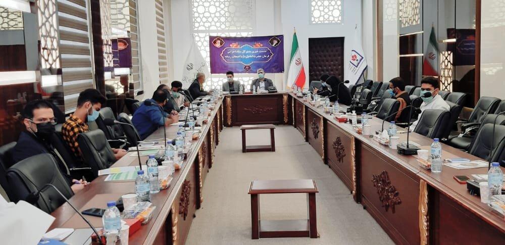 نشست خبری مدیر کل ستاد اجرایی فرمان حضرت امام(ره)سیستان و بلوچستان با اصحاب رسانه