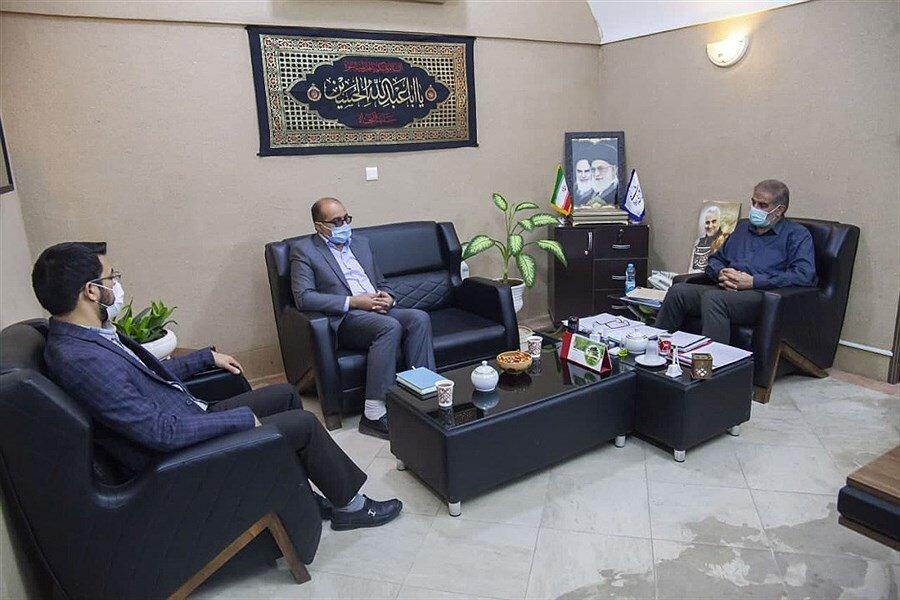 دیدار مدیرکل ستاد اجرایی فرمان امام (ره) با رئیس مجمع نمایندگان استان یزد