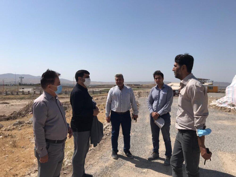 بازدید از پروژه مسکن برکت در شهرستان مراغه