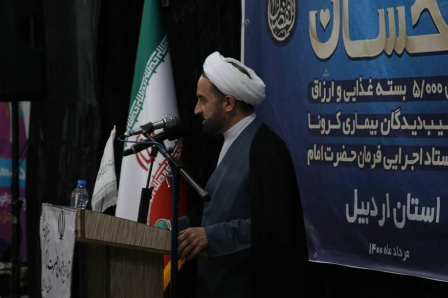 فعالیت های مجاهدانه ستاد اجرایی فرمان امام (ره) موجب ترک فعل مسئولان نشود