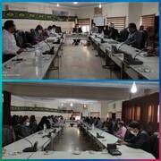 جلسه کارگروه اشتغال و توسعه شهرستان حاجی آباداستان هرمزگان