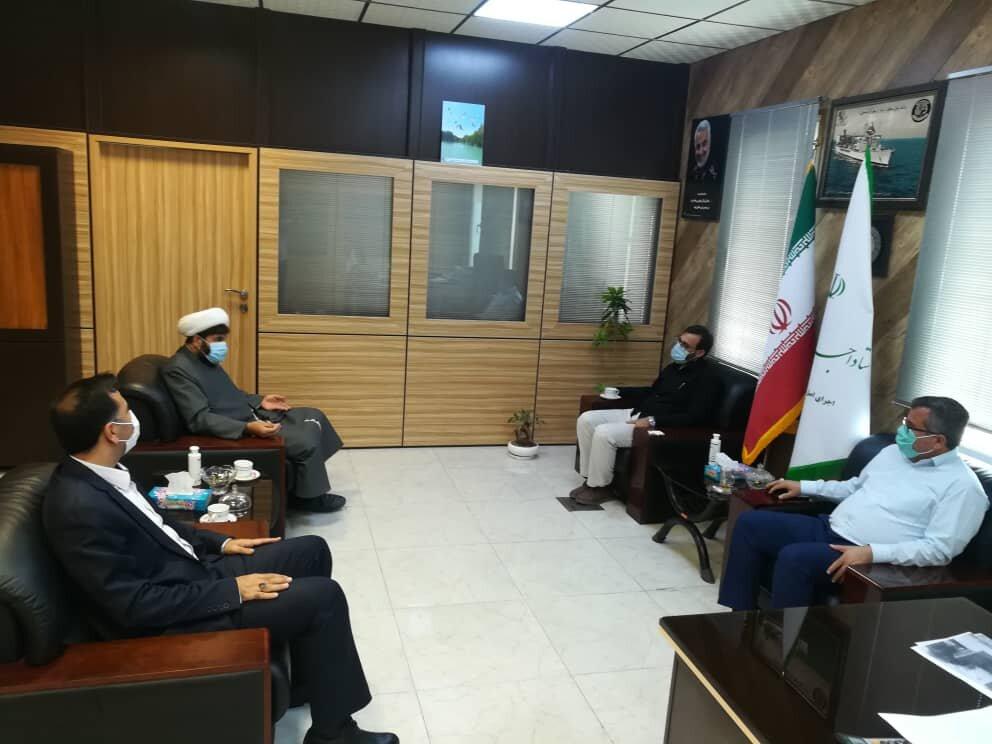 برگزاری جلسه با قاضی دادگاه اصل ۴۹ قانون اساسی استان هرمزگان