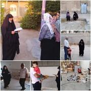 گزارش تسهیلگران شهرستان دشتستان بخشمرکزی روستای قلعه سفید