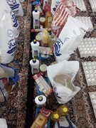آماده سازی و توزیع بسته های معیشتی  اهدایی بنیاد احسان توسط گروه جهادی شهید تلیانی شهرستان بوشهر