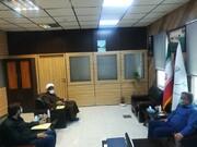جلسه با قاضی دادگاه اصل ۴۹ قانون اساسی استان هرمزگان