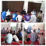 تشکیل جلسه کارگروه توسعه اشتغال روستای قلعه، بخش جغین، شهرستان رودان، استان هرمزگان