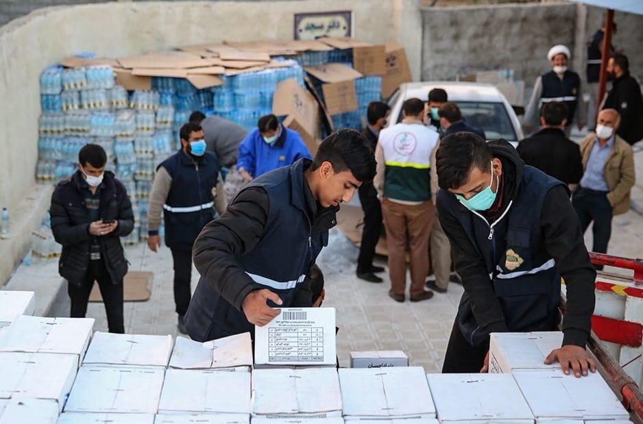حضور نماینده رئیس ستاد اجرایی فرمان امام در مناطق زلزلهزده اندیکا
