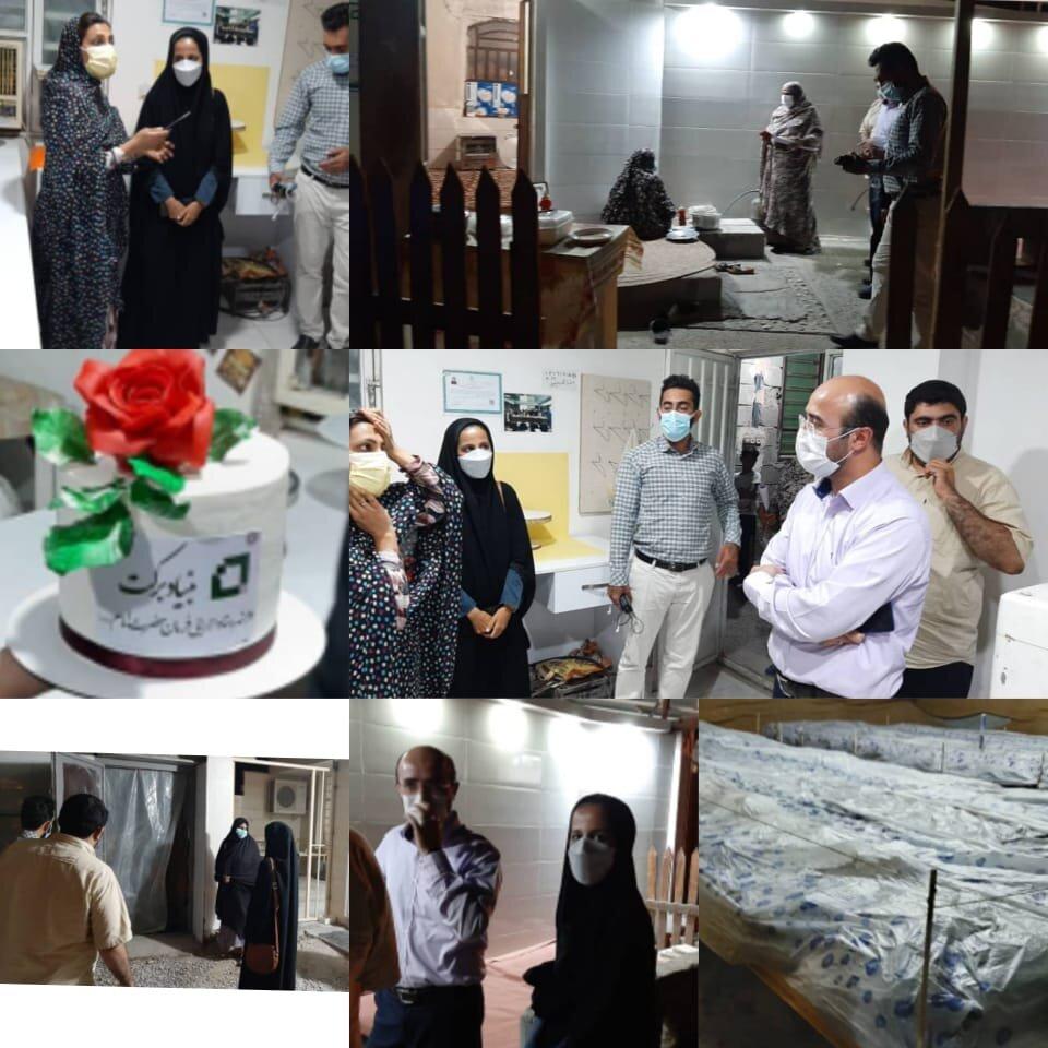 بازدید از طرح های اشتغالزایی بنیاد برکت در استان هرمزگان