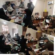 گزارشتسهیلگران شهرستان بوشهر در روستاهای احمدی و قلعه چاهکوتاه
